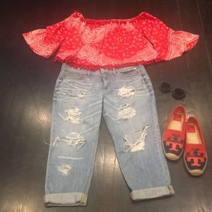 Sneak Peek Relaxed jeans size 5